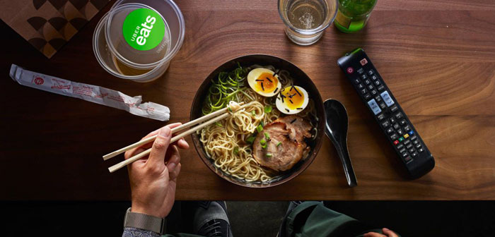 Uber UK Eats takes virtual restaurants to combat the presence of Deliveroo. Already it has 400 options available in the app
