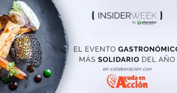 ElTenedor Insider Week recauda cerca de 50.000€ para Ayuda en Acción y su programa para luchar contra la pobreza infantil en España