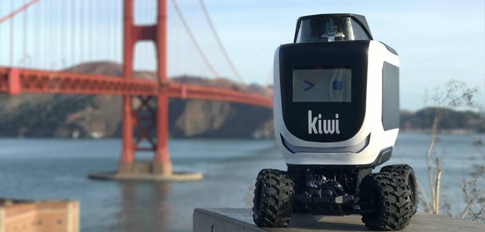 KiwiBot, el simpático robot autónomo que ya ha entregado 10.000 pedidos de comida a domicilio KiwiBot, el simpático robot autónomo que ya ha entregado 10.000 pedidos de comida a domicilio