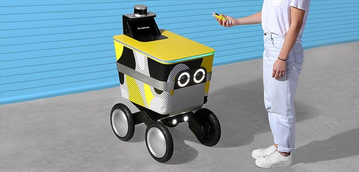 Postmates joins the trend of autonomous robots deal with their model Serve Serve, another home-delivery robot that joins the trend in the autonomous mobility