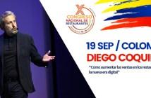Diego Coquillat visita Colombia para impartir una conferencia sobre la nueva era de los restaurantes