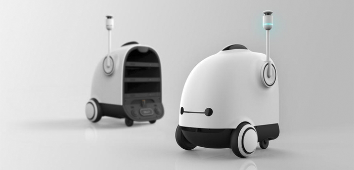 The largest company in home delivery food in South Korea will have a fleet of robots cast in 2022