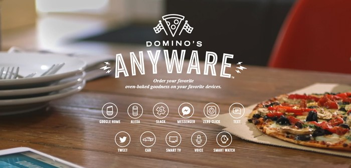 Domino's centralizes all its communication channels with consumers thanks to AnyWare Domino's Pizza, the best example of omnicanalidad in restaurants thanks to its AnyWare system