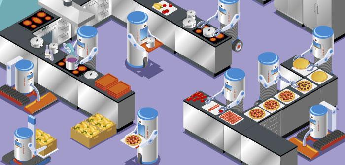 San Francisco llena sus restaurantes con robots