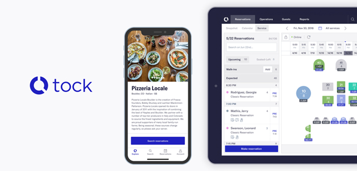 Tock is a mobile app that helps manage the reserve of diners at restaurants. also features a desktop application for those who prefer to work from your desk.