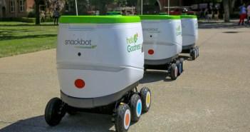 Así son los robots de reparto de PepsiCo y Robby Technologies
