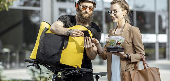 Las start-ups de reparto a domicilio de comida ganan terreno en un mercado cada vez más competitivo
