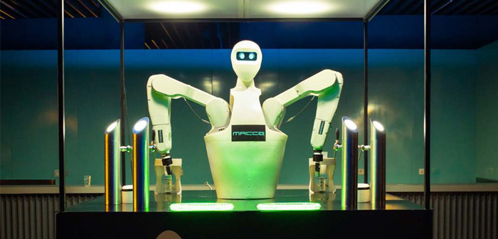 "Robotics MACCO take his ""robolution"" a new edition of HIP2020"