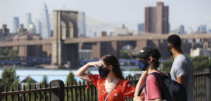 New York a été l'une des premières villes à subir le fléau du COVID-19.