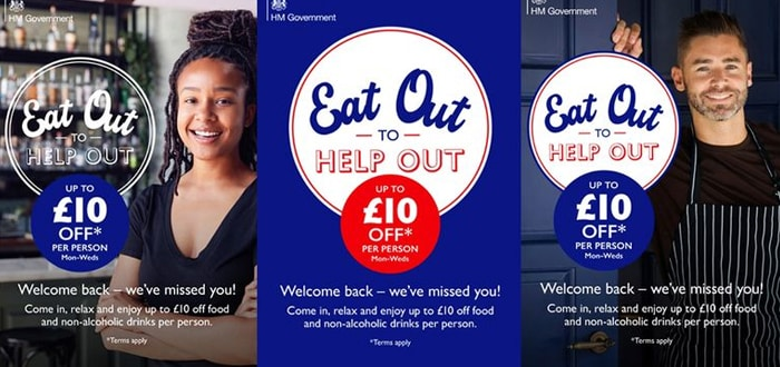 "The reality is that restaurants, pubs, coffee shops, Bars and other businesses in the union have found great encouragement in ""Eat out to help out""."