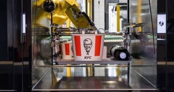 KFC abre un restaurante sin empleados, basado al 100% en robótica