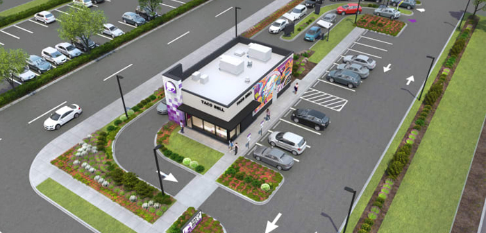Taco Bell have made a great effort to encourage the installation of double lanes in their restaurants, something that allows them to serve more customers and minimize waiting times, which in turn is greatly improving your digital profile by collecting more positive reviews.