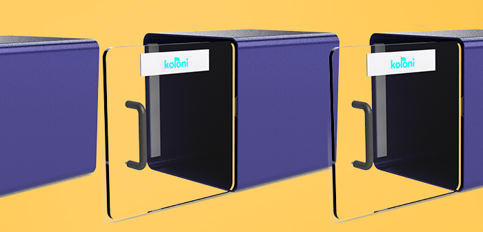 Smart lockers for contactless food delivery