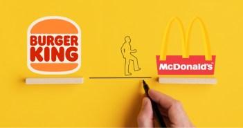 El Covid-19 consigue que Burger King recomiende McDonald's