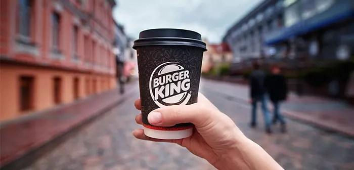 Burger King lance un service d'abonnement 5$ un mois vous obtenez un café par jour