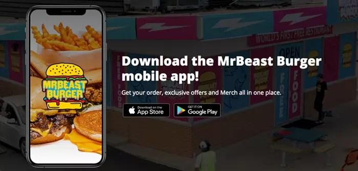 Además, el equipo de MrBeast ha lanzado su propia app móvil desde la cual también se pueden hacer encargos. Este programa les ayudará a reforzar su imagen de marca (si acaso eso es posible) y fidelizar a su clientela mediante promociones al excéntrico estilo MrBeast.