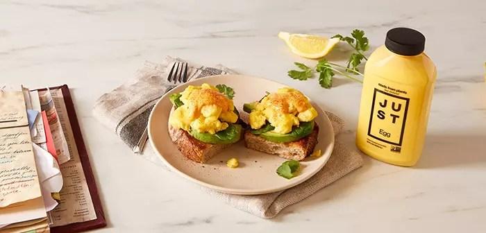 Los sustitutos vegetales del huevo llegan a Europa de la mano de Eat Just