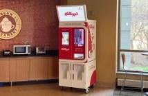 Kellogg's quiere conquistar los restaurantes y cafeterías con un robot que mezcla y dispensa cereales