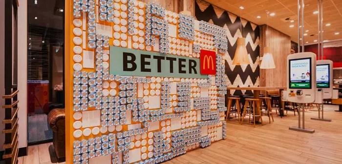 Los Better McDonald's Stores que funcionaron por un breve periodo de tiempo en Alemania a modo de prueba preliminar demuestran que un restaurantes sostenible libre de plásticos no es una imposibilidad técnica.