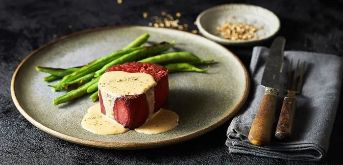 The future of plant-based meat substitutes for restaurants.