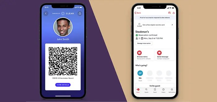 Information is obtained through pharmacies and medical authorities, so there is no possibility of error. This card generates a QR code that can be scanned by other terminals to check that everything is in order..