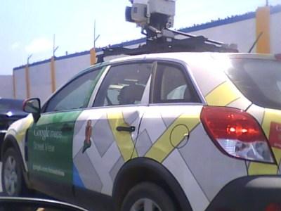 Carro do Google Street View em Maceió