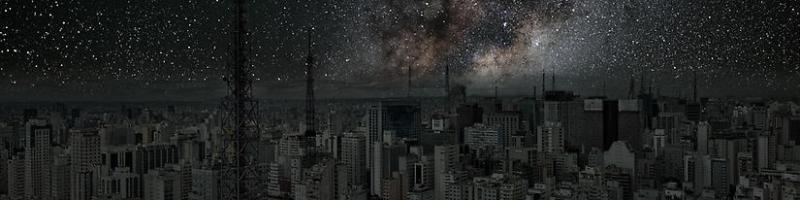 O céu de São Paulo