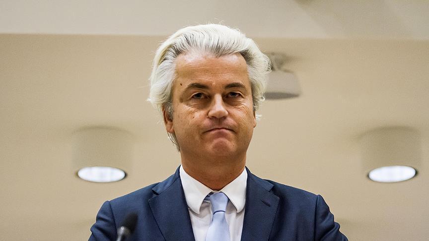 Irkçı Wilders'tan 'İslam karşıtı' yasa tasarısı teklifi