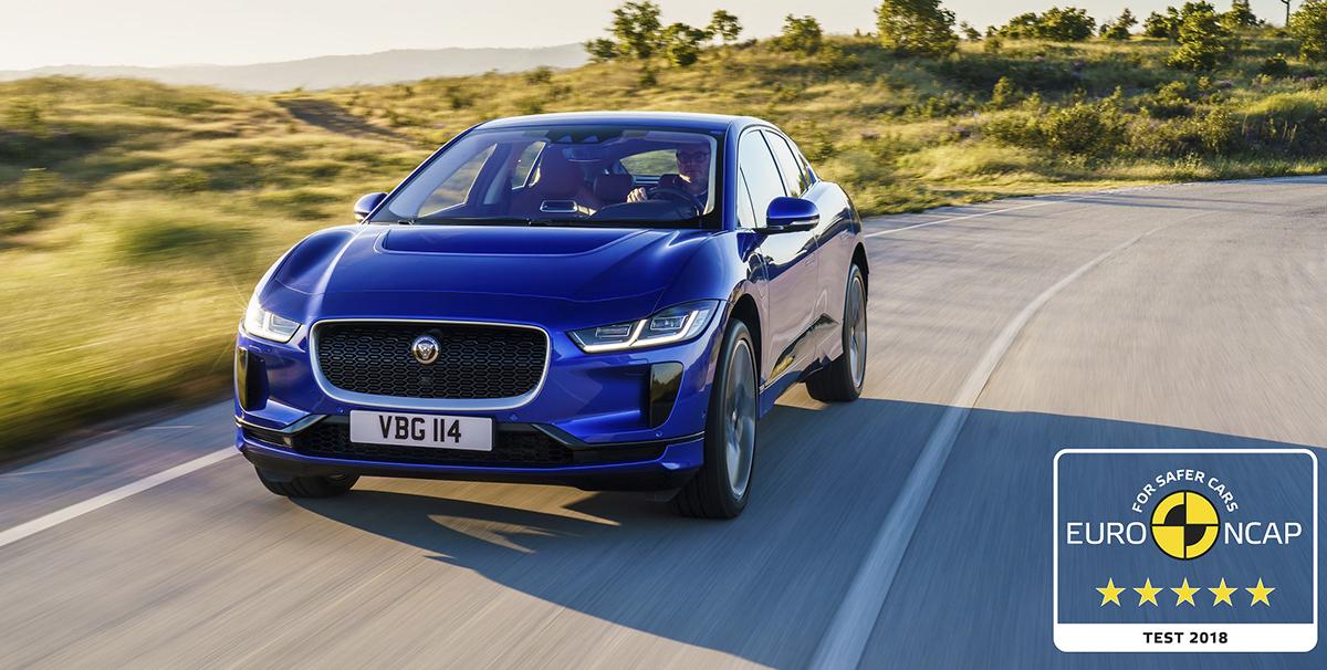 Jaguar I-PACE Euro NCAP 5 yıldız aldı
