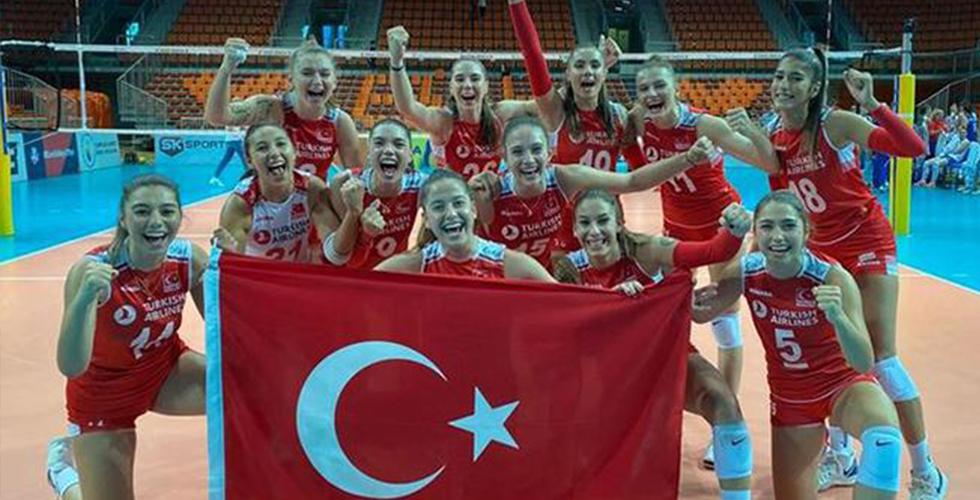 Voleybol Milli Takımı Avrupa Şampiyonu