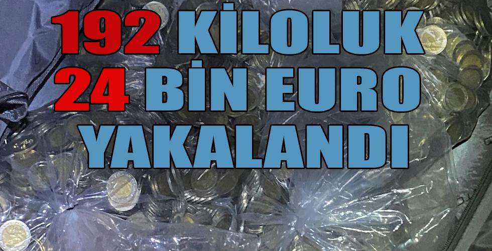 36 bin euro nakit paraya el konuldu