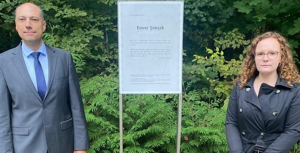 Enver Şimsek adı Jena'dan sonra Nürnberg'de de yasayacak.