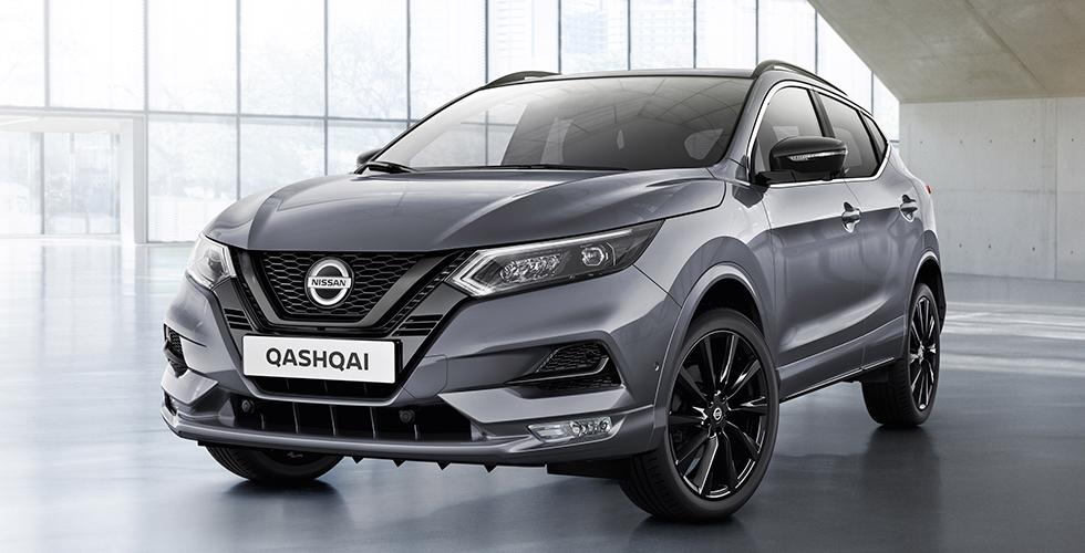 Nissan Qashqai Midnight Edition yollarda