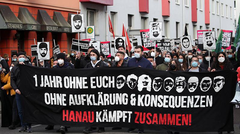 Hanau katliamını unutmak yok