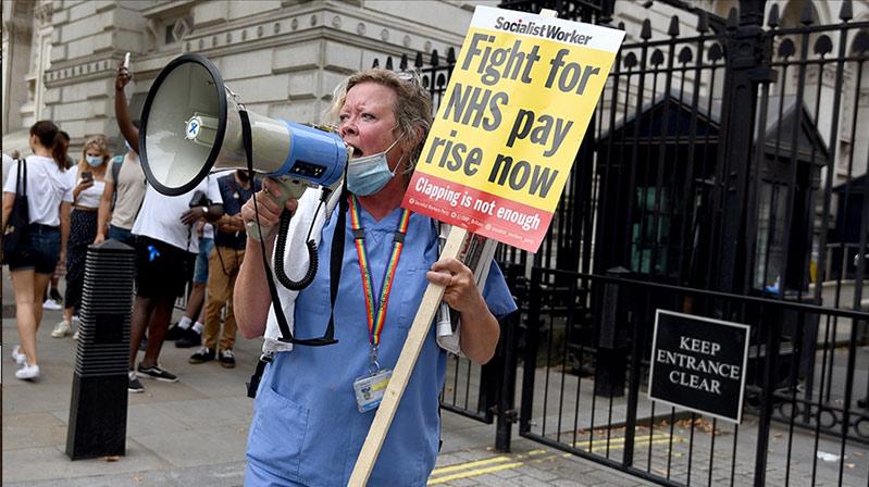 İngiltere'de hemşireler iş bırakabilir