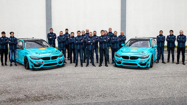BMW M4 GT4 Türk takımı sezonu efsanevi Monza Pistinde açıyor
