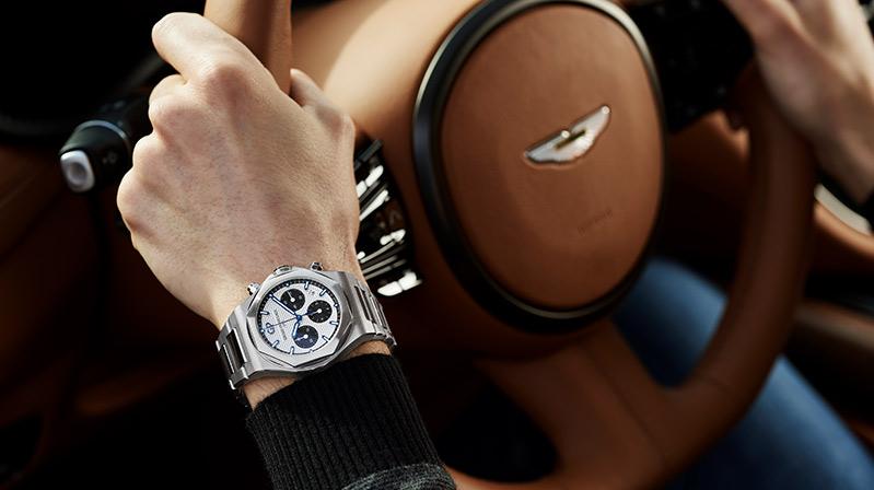Aston Martin'in resmi saat ortağı Girard-Perregaux
