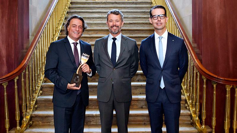 ISS Türkiye Danimarka Veliaht Prensi İş Ödülüne Layık Görüldü