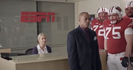 Wisconsin Football Stars In Hilarious ESPN Commercial