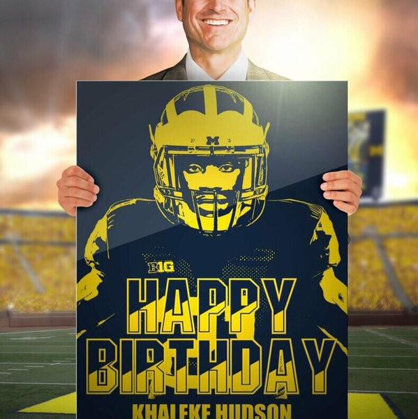 Michigan Sends Keyshawn Pie Young Birthday Wish