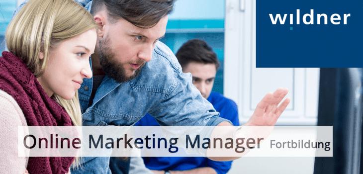 Online Marketing-Manager Wildner-Akademie München