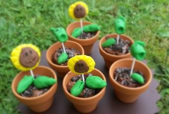 Pflanzen vs. Zombies Cupcakes