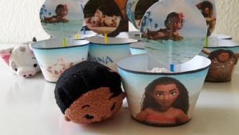 Vaiana Cupcakes