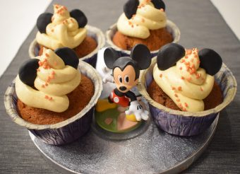 Salted Karamell Mickey Cupcakes | Nerd Day