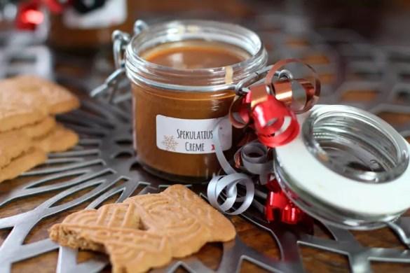 Spekulatius Creme Aufstrich Rezept Selber machen DIY Geschenk