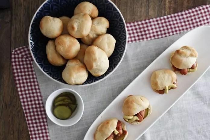 Mini Hotdogs - Fingerfood - Partyfood - Brunch - zum Mitbringen