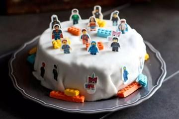 Rezept Lego Torte / Motivtorte
