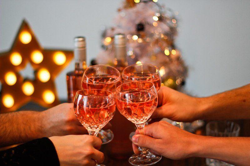 1 Jahr Die Küche brennt - Weihnachtsessen mit Bree Wein