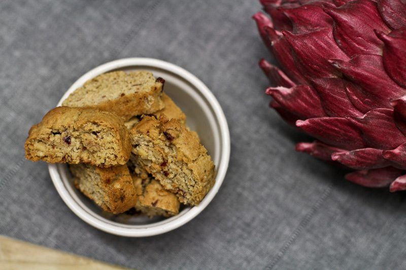 Cantuccini selber machen - Rezept mit Walnüssen und Cranberries
