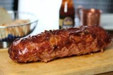 Rezept Mac'n Cheese Bacon Bomb mit Barbecue Glasur & Makkaroni Füllung
